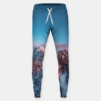 Thumbnail image of Magical sky above mountain Storžič, Slovenia Sweatpants, Live Heroes