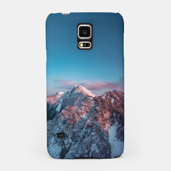 Thumbnail image of Magical sky above mountain Storžič, Slovenia Samsung Case, Live Heroes