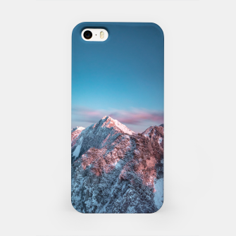 Thumbnail image of Magical sky above mountain Storžič, Slovenia iPhone Case, Live Heroes