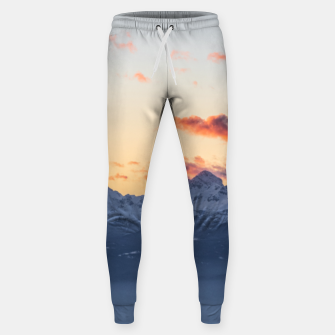 Imagen en miniatura de Bright orange clouds above Triglav, Slovenia Sweatpants, Live Heroes
