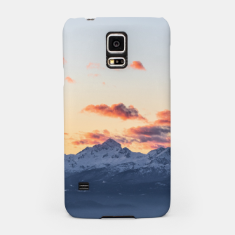 Imagen en miniatura de Bright orange clouds above Triglav, Slovenia Samsung Case, Live Heroes