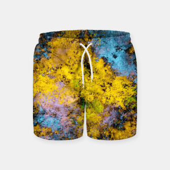 Thumbnail image of To twist the truth Swim Shorts, Live Heroes