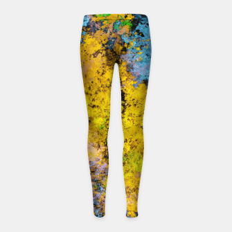 Thumbnail image of To twist the truth Girl's leggings, Live Heroes