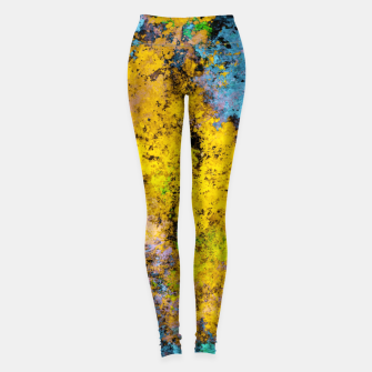Thumbnail image of To twist the truth Leggings, Live Heroes