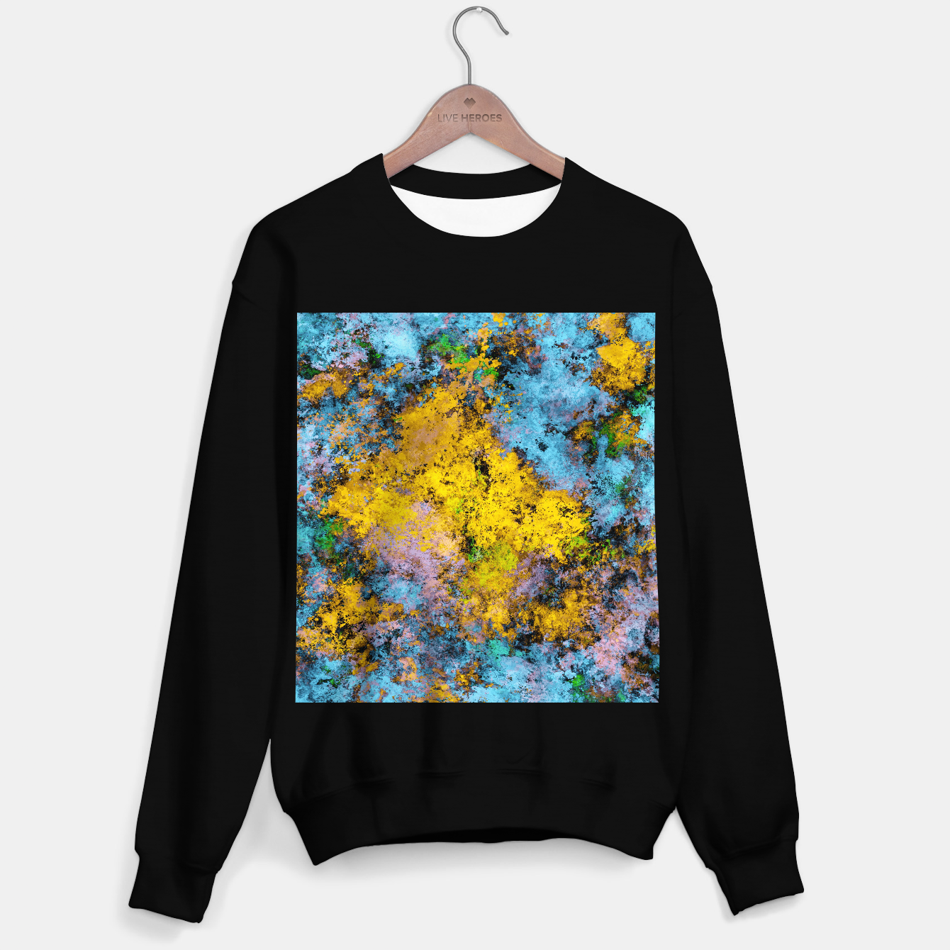 Image of To twist the truth Sweater regular - Live Heroes