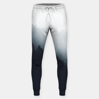 Miniatur Fog over forest diagonal layers Sweatpants, Live Heroes