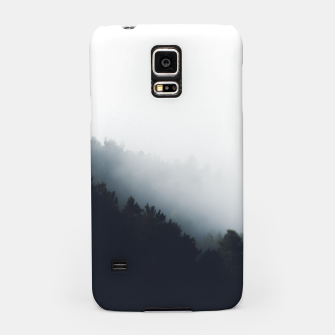 Miniatur Fog over forest diagonal layers Samsung Case, Live Heroes