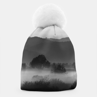 Thumbnail image of Fog rolling through valley in black and white Beanie, Live Heroes