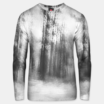 Miniatur Lost in the woods - abstract infrared photograph Unisex sweater, Live Heroes