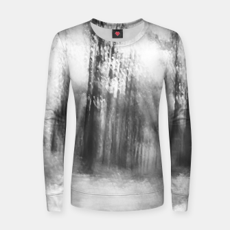 Miniatur Lost in the woods - abstract infrared photograph Women sweater, Live Heroes