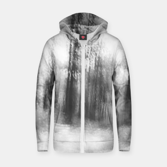 Miniatur Lost in the woods - abstract infrared photograph Zip up hoodie, Live Heroes