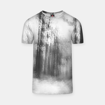 Miniatur Lost in the woods - abstract infrared photograph T-shirt, Live Heroes