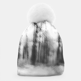 Miniatur Lost in the woods - abstract infrared photograph Beanie, Live Heroes