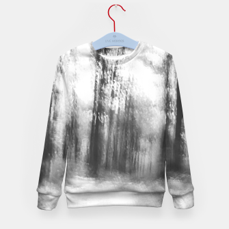 Miniatur Lost in the woods - abstract infrared photograph Kid's sweater, Live Heroes