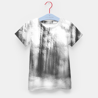 Miniatur Lost in the woods - abstract infrared photograph Kid's t-shirt, Live Heroes