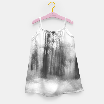Miniatur Lost in the woods - abstract infrared photograph Girl's dress, Live Heroes