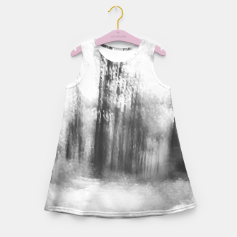 Miniatur Lost in the woods - abstract infrared photograph Girl's summer dress, Live Heroes