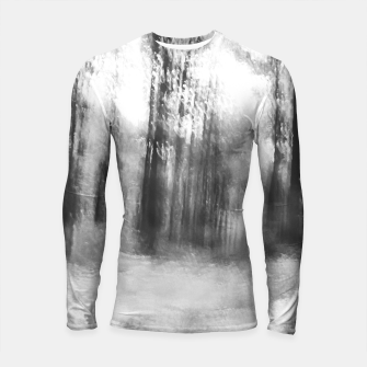Miniatur Lost in the woods - abstract infrared photograph Longsleeve rashguard , Live Heroes