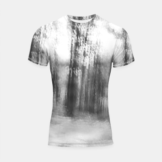 Miniatur Lost in the woods - abstract infrared photograph Shortsleeve rashguard, Live Heroes