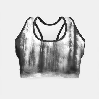 Miniatur Lost in the woods - abstract infrared photograph Crop Top, Live Heroes