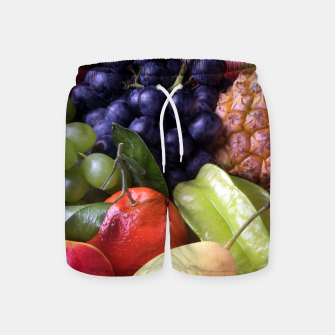 Thumbnail image of Tropical Exotic Fruits Swim Shorts, Live Heroes