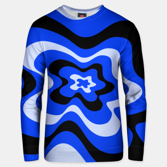Thumbnail image of Abstract pattern - blue. Unisex sweater, Live Heroes