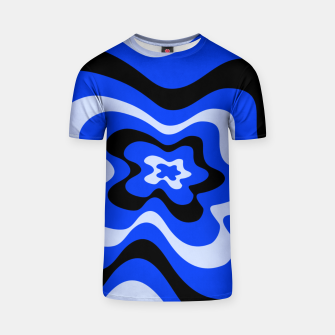 Thumbnail image of Abstract pattern - blue. T-shirt, Live Heroes