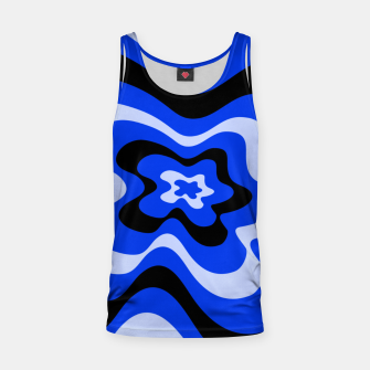 Thumbnail image of Abstract pattern - blue. Tank Top, Live Heroes