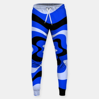 Thumbnail image of Abstract pattern - blue. Sweatpants, Live Heroes