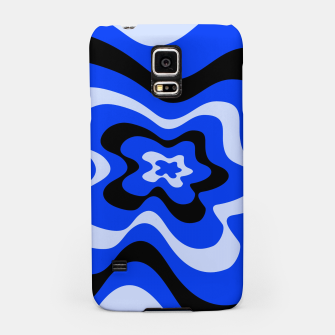 Thumbnail image of Abstract pattern - blue. Samsung Case, Live Heroes