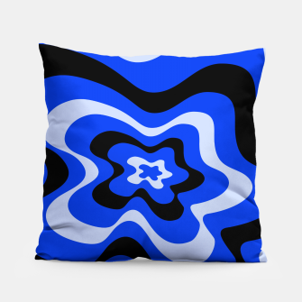 Thumbnail image of Abstract pattern - blue. Pillow, Live Heroes