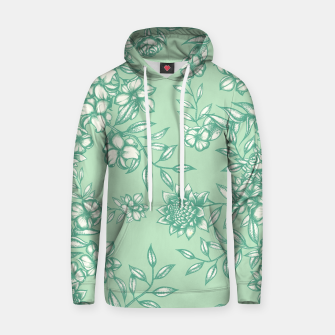 Thumbnail image of Blue Flowers Hoodie, Live Heroes