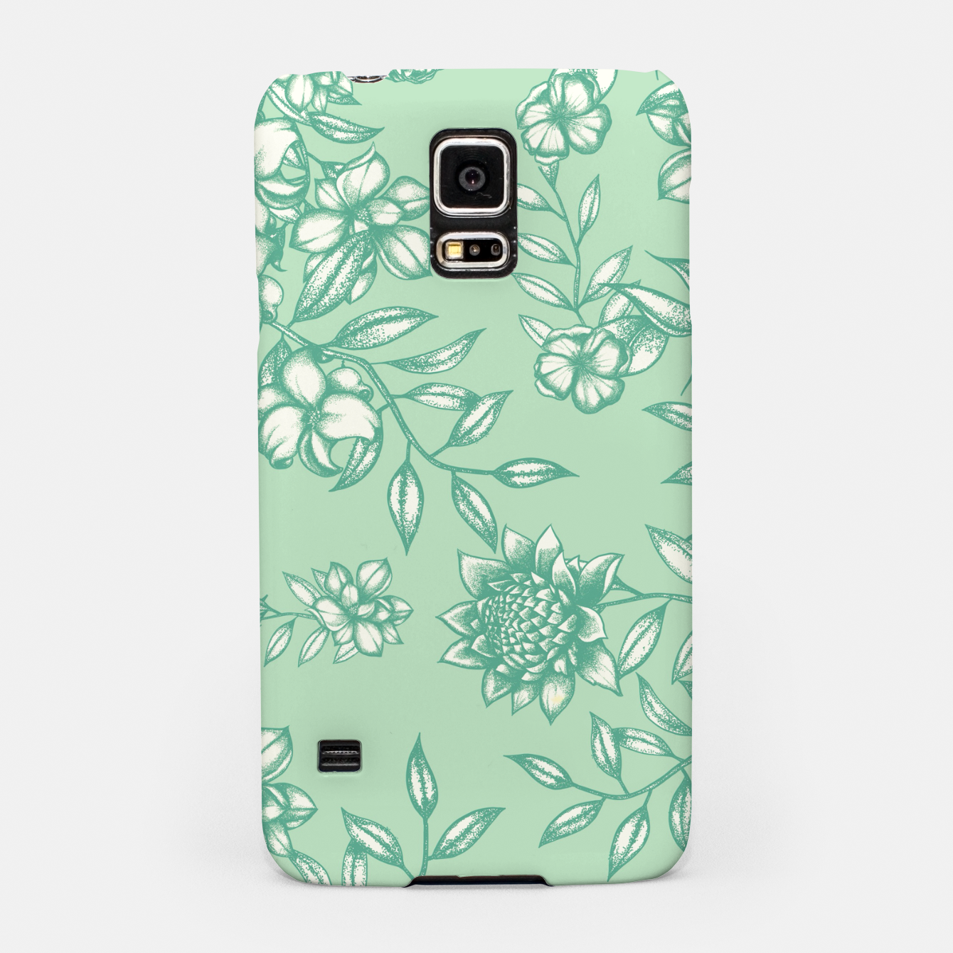 Foto Blue Flowers Samsung Case - Live Heroes