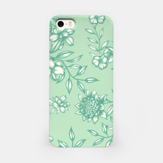 Miniatur Blue Flowers iPhone Case, Live Heroes