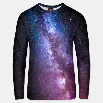 Thumbnail image of Milky way bright colors Unisex sweater, Live Heroes