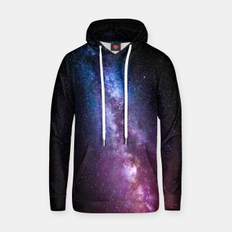 Thumbnail image of Milky way bright colors Hoodie, Live Heroes