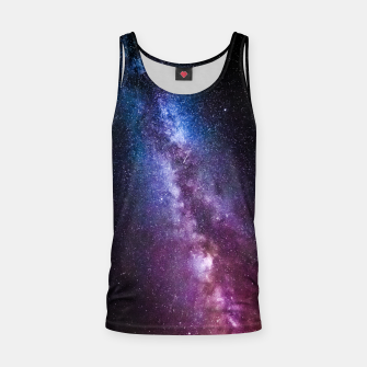 Thumbnail image of Milky way bright colors Tank Top, Live Heroes