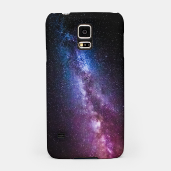 Thumbnail image of Milky way bright colors Samsung Case, Live Heroes