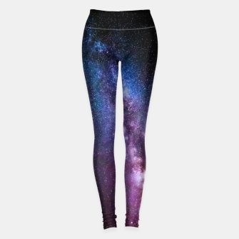 Thumbnail image of Milky way bright colors Leggings, Live Heroes