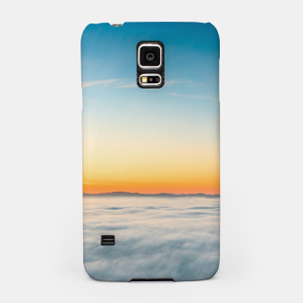 Thumbnail image of Magical sunrise above clouds Samsung Case, Live Heroes