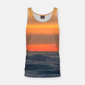 Thumbnail image of Magical sunset above the clouds Tank Top, Live Heroes