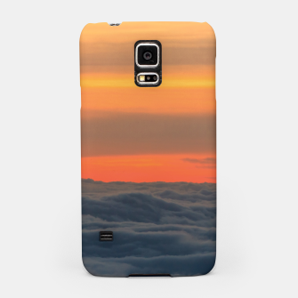 Miniatur Magical sunset above the clouds Samsung Case, Live Heroes