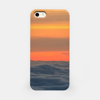Miniatur Magical sunset above the clouds iPhone Case, Live Heroes