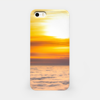 Thumbnail image of Stunning sunset above the clouds iPhone Case, Live Heroes