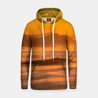 Miniaturka Sunrise colors and clouds Hoodie, Live Heroes