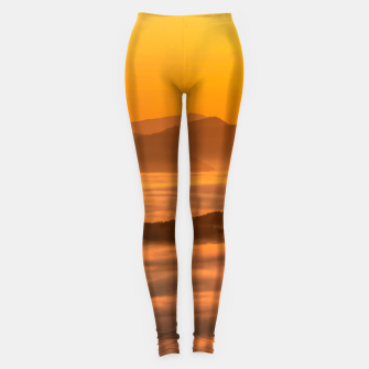 Miniaturka Sunrise colors and clouds Leggings, Live Heroes