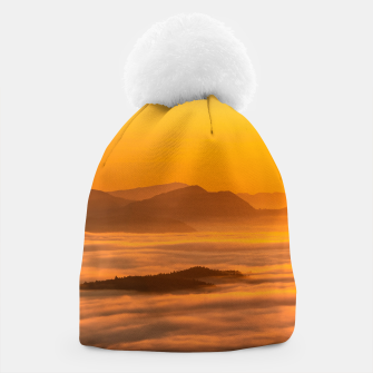 Miniaturka Sunrise colors and clouds Beanie, Live Heroes