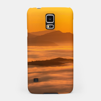 Miniaturka Sunrise colors and clouds Samsung Case, Live Heroes