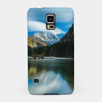 Thumbnail image of Beautiful lake with mountains in background in Zgornje Jezersko Samsung Case, Live Heroes