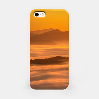 Miniaturka Sunrise colors and clouds iPhone Case, Live Heroes
